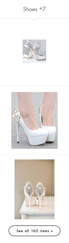 """""""Shoes #7"""" by evil-bookworm ❤ liked on Polyvore featuring shoes, heels, ralph, ralph shoes, pumps, silver high heel pumps, high heel pumps, high heel shoes, high heeled footwear and sexy high heel shoes"""