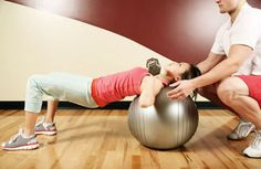 Exercising with a Stability Ball via @SparkPeople
