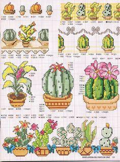 Cactus Cross Stitch, Tiny Cross Stitch, Cross Stitch Kitchen, Cross Stitch Books, Cross Stitch Needles, Cross Stitch Heart, Cross Stitch Cards, Cross Stitch Borders, Cross Stitch Samplers
