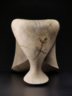 """""""the tonus stool"""" by Aldo Bakker"""