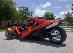 Trex G2 Hayabusa trike motorcycles