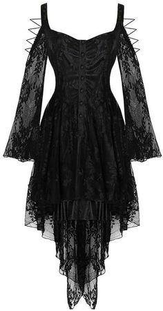*dark in love* black lace dress <3