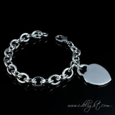Alloy + 925 Sterling Silver + High Quality Polishing + Durable Colour Protector Lobster claw clasp  * Size: One size  * Measurements : 20cm  * Weight (g): 35 * ATBR020-1 * www.i-delight.com