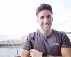 James Stirling Fitbit UK Ambassador 2017 Fitbit Blaze