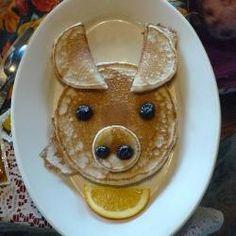 Animal Pancakes for Children