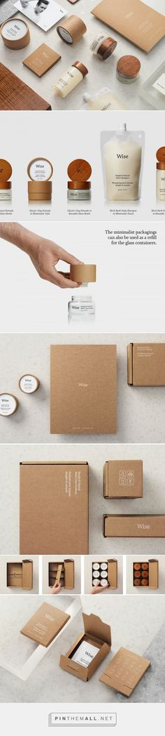 Wise Men´s Care, Brand Identity and Packaging on Behance... - a grouped images picture - Pin Them All