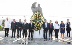 Conmemoran natalicio de Benito Juárez en Xoxocotlán