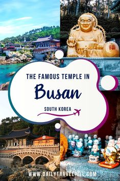Busan South Korea, South Korea Travel, Ancient Greek Architecture, Gothic Architecture, Bus Number, Vietnam Travel, Wedding Humor, London City, Temples