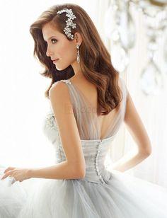 ❀ V Neck Sexy Wedding Dress Bridal Gown | Riccol ❤