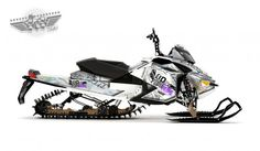 Rob Kincaid's Arctic Cat M8000 Mod Sled. Supercharged