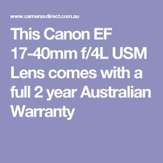 This Canon EF USM Lens comes with a full 2 year Australian Warranty Canon 35mm, Nikon Lens, Canon Ef, Canon L Series, Prime Lens, Close Up Photography, F 1, Lenses, Search