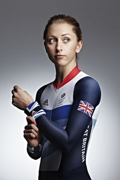 British Olympic and Commonwealth gold medal winning cyclist, Laura Trott Cycling Girls, Cycling Art, Victoria Pendleton, Female Cyclist, Team Gb, Bicycle Girl, Bicycle Women, Fitness Photos, Sports Stars