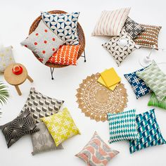 Cushions-flatlay