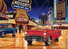 Cruisin': Gamblin' Man  - Cruising down the main street was a big part of the life of some of my friends from my teenage years!
