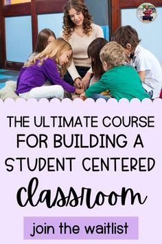 Are you a first year teacher looking to learn how to run a student centered classroom? In my student centered classroom course, I teach you everything you need to know as a new teacher. I teach you classroom management strategies, how-to set up your classroom, how to build a strong classroom community and how to teach classroom rules and procedures in a fun and engaging way. Before you head back to school this year, be sure to sign up for this amazing teacher course.