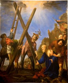 maertyrer:  Carlo Dolci - Das Martyrium des Hl. Andreas (The martyrdom of St. Andrew, 1646)