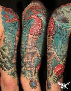Russ Abbott at Ink & Dagger Tattoo