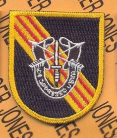 5th Special Forces Airborne RVN Advisor Flash Patch DUI | eBay