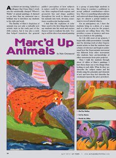 Arts & Activities artist:Franz Marc