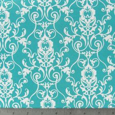 Items similar to Turquoise Cherish Scroll- 1 Yard on Etsy Hand Knit Blanket, Knitted Blankets, Art Craft Store, Craft Stores, Mccalls Patterns, Fabric Patterns, Hobby Lobby Fabric, Renaissance, Craft Room Closet