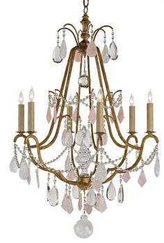 Fairytale Chandelier design by Currey & Company