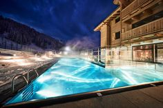 5 mal Ski Hotel mit Outdoor Pool - The Chill Report Outdoor Pool, Outdoor Decor, Hotels, Bad, Austria, Winter, Skiing, Chill, Outdoor
