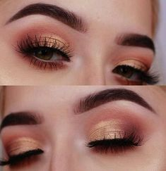 Makeup Ideas 2018 Capture attention to your eyes enthrall the masses and cast a spell with just o Makeup Goals, Makeup Inspo, Makeup Inspiration, Makeup Tips, Makeup Ideas, Makeup Products, Cat Eye Makeup, Skin Makeup, Eyeshadow Makeup
