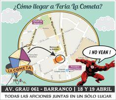 NIGHTCRAFT en FERIA LA COMETA -  Sábado 18 y Domingo 19 de Abril - Av. Grau 061 - Barranco : INGRESO LIBRE : https://www.facebook.com/events/427479644073347/