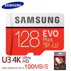 Cheap micro sd card Buy Quality memory card directly from China card Suppliers: Samsung Memory Card New EVO PLUS Micro sd card Read Speed Microsd for Tablet Smartphone Samsung, Best Projector, Smartphone Reviews, Flash Memory Card, 4k Hd, Evo, Card Reading, Sd Card, Cool Things To Buy