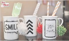 DIY Sharpie Mug Art | Fashion Bloggers And Style