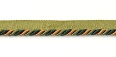 """3/8"""" Lip Cord - Hunter Green Multi 