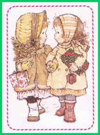 "Képtalálat a következőre: ""sarah kay"" Precious Moments, Colouring Pages, Coloring Books, Mary May, Sarah Key, Holly Hobbie, Pretty Art, Vintage Cards, Vintage Children"