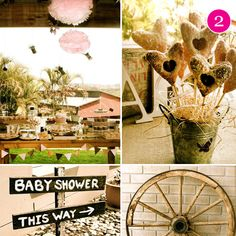 Yes it's a baby shower, but so many cute ideas!