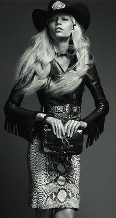Bohemian Cowgirl Editorials : Vogue Turkey May 2012