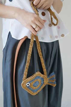 mina perhonen crochet bag