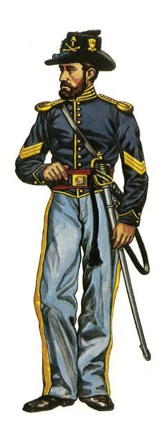 US 1st Cavalry 1861.