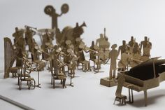 ...and the band played on. Paper artist: Terada Mokei