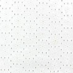Tissu coton ajouré Aske A x 10cm