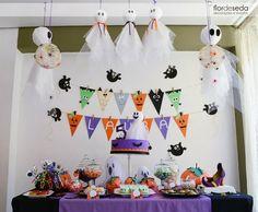 Decoração dia das bruxas - Halloween