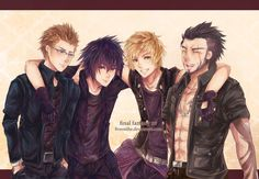 Final Fantasy XV on Pinterest | Final Fantasy, Deviantart and Art