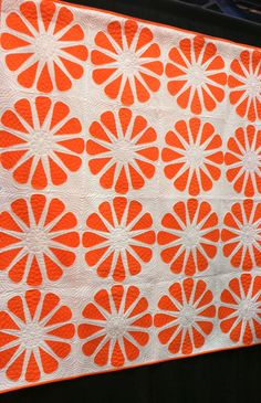 Orange Slices Quilt by Natalia Bonner