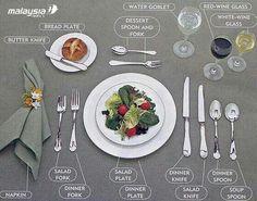 Dinner table good to know! Dinner table good to know! The post Dinner table good to know! appeared first on Esstisch ideen. Dinning Etiquette, Table Setting Etiquette, Table Settings, Place Settings, Etiquette Dinner, Correct Table Setting, Wedding Etiquette, Dinner Fork, Dinner Table