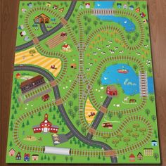 Contemporary Area Rugs Olive Kids Cityscape Play Rug Olive Kids Rugs Nurzery Wooden Toy Pinterest Cars Olives and Creative