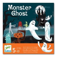 Monster Ghost - Djeco - The Red Lutin