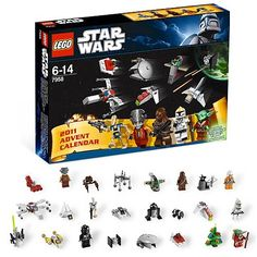 Star Wars lego advent calendar. So many good things rolled into one! Wish I'd seen this about a month ago.
