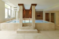 Techno, Bathtub, Bathroom, Travertine, Natural Stones, Swimming, Standing Bath, Washroom, Bath Tub