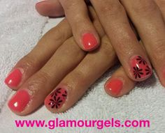 """Viral"" gets your nails ready for summer in a snap! www.glamourgels.com"