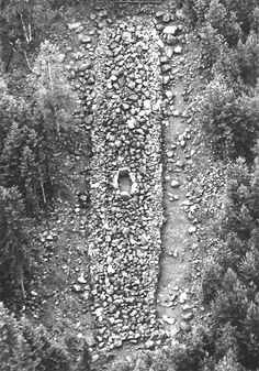 Aerial picture of Bronze Age Selkäkangas burial cairn during the excavation in Nakkila, Finland. Bronze Age, Prehistoric, Alchemy, Archaeology, Finland, Mythology, Vikings, City Photo, Blessed