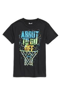 Under Armour 'About To Go Off' Graphic HeatGear® T-Shirt (Toddler Boys & Little Boys)