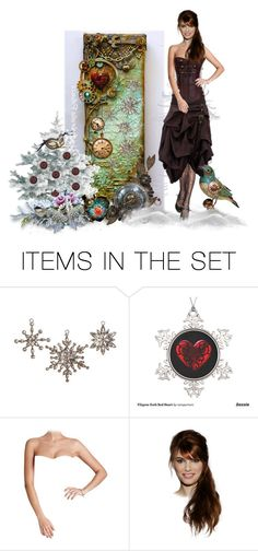 """Steampunk Winter"" by barebear1965 ❤ liked on Polyvore featuring art"